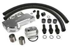 Trans Dapt Performance 3388 Dual Oil Filter Relocation Kit