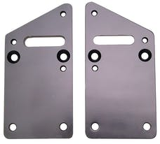 "Trans Dapt Performance 4575 GM LS or VORTECH into SB CHEVY CHASSIS (1"" offset)- Motor Mount Plates Only"