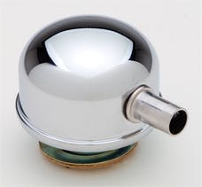 """Trans Dapt Performance 4806 2-3/8"""" Diameter """"TWIST-IN"""" Style Breather Cap with Tube-CHROME"""