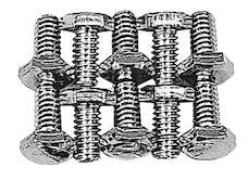 Trans Dapt Performance 4920 Timing Chain Cover Bolts (ZINC)- CHEVY 4.3L V6 or SB Chevy 283-400