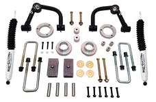 Tuff Country 54036KN 4in. Lift Kit w/Uni-Ball Upper Control Arms w/SX8000 Shocks