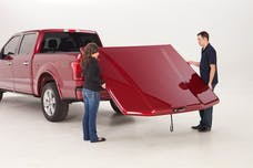 UnderCover UC1238L-G1W Elite LX Tonneau Cover Abalone White