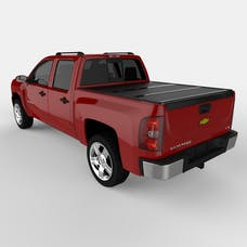 UnderCover FX11006 FLEX Tonneau Cover Black w/Factory Bed Rail Caps w/o Cargo Channel System