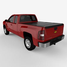 UnderCover FX11008 FLEX Tonneau Cover Black w/o Factory Bed Rail Caps w/o Cargo Channel System
