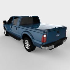 UnderCover UC2126L-N1 LUX Tonneau Cover Blue Jeans w/Tailgate Step