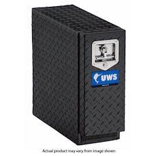 """UWS DS-22-BLK 22"""" Aluminum Drawer Slide Black"""