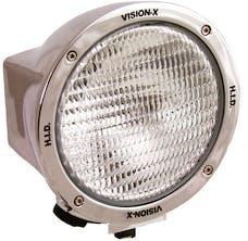 """Vision X 4000667 6.7"""" Round 100 Watt Tungsten Halogen Flood Beam"""