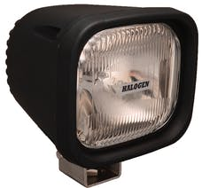 "Vision X 4004009 4"" Square 100 Watt Halogen Euro Beam Lamp"