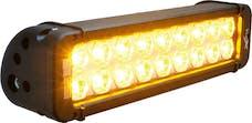 "Vision X 4006980 11"" Xmitter Prime Amber LED Bar Black 18 5w LED's 10° Narrow"