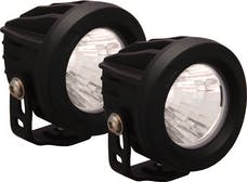 Vision X 9141343 Optimus Series Prime Round Black 1 10w LED 20° Medium Kit Of 2 Lights