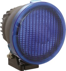 "Vision X 9157368 4.72"" Cannon Light Polycarbonate Flood Cover Blue"