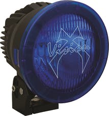 "Vision X 9888460 6.7"" Cannon Polycarbonate Cover Blue Euro"