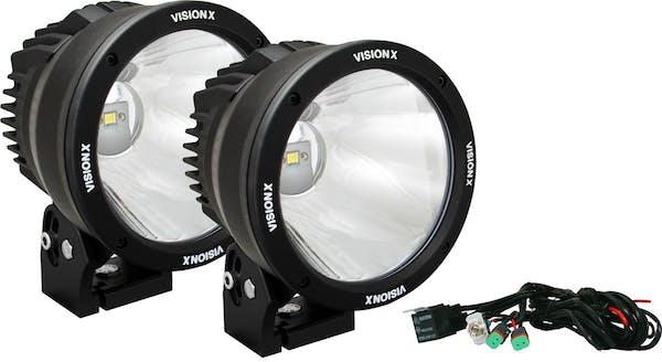 """Vision X 9888545 6.72"""" LED Light Cannon - Black"""