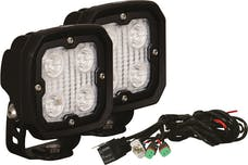 Vision X 9891187 Kit Of 2 Duralux Work Light 4 LED 10 Degree with Harness