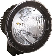 """Vision X 9896663 8.7"""" Cannon PCV Cover Clear Combo Beam"""