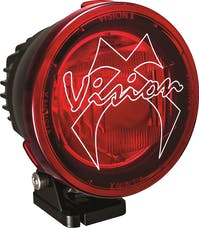 """Vision X 9896649 4.72"""" Cannon PCV Red Cover Combo Beam"""