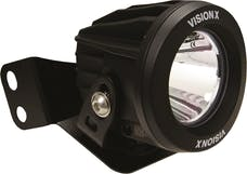 "Vision X 6042084 2/4 Seat RZR ""A"" Pillar Light Single Optimus Mount L&R"