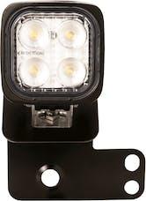 Vision X 6052081 Single Left 2/4 Seat RZR D Pillar Mount And Dura Mini Light Kit