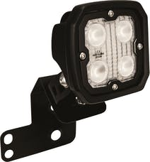 Vision X 6052087 Single Right 2/4 Seat RZR D Pillar Mount And Dura 4 LED 60 Degree Light Kit