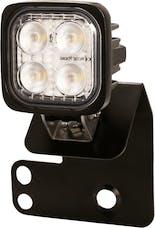 Vision X 6052086 Single Right 2/4 Seat RZR D Pillar Mount And Dura Mini Light Kit