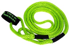 """VooDoo Offroad 1300004 1/2"""" x 16' UTV Kinetic Recovery Rope, Green"""