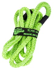 """VooDoo Offroad 1300006 1/2"""" x 10' UTV Kinetic Recovery Rope, Green"""