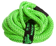 """VooDoo Offroad 1300007 1/2"""" x 20' UTV Kinetic Recovery Rope, Green"""