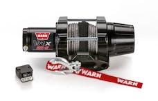 WARN 101020 VRX 25-S Synthetic Winch; Black
