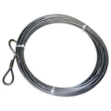 Warn 25431 Wire Rope Extension 3/8 X 75'