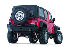 WARN 74300 Rock Crawler Rear Bumper