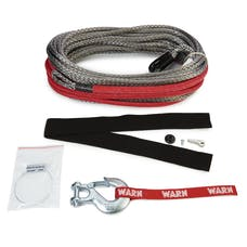 WARN 96040 Standard Duty and Spydura® Synthetic Rope and Extensions
