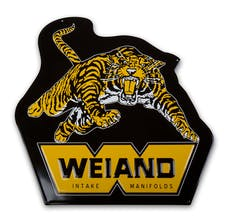 Weiand 10009WND Weiand Tiger Metal Sign
