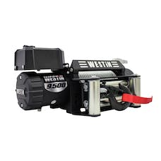 WESTiN Automotive 47-2100 9;500 lb. 6.6hp; 12V Off-Road series waterproof winch with 5/16 inch steel rope