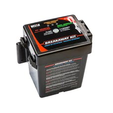 WESTiN Automotive 65-75028 Breakaway Kit; 5 AMP Battery; Battery Case; Breakaway Switch; Battery Charger an