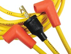 ACCEL 4045 8mm Super Stock Spark Plug Wire Set, Graphite Custom