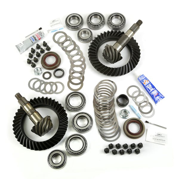 Alloy USA 360005 Micro Differential Install Kit, for Dana 30 Front; 07-17 Jeep Wrangler