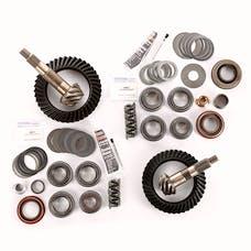 Alloy USA 360024 Ring/Pinion Kit, D30 Front - D35 Rear, 4.56 Ratio; 97-06 Wrangler TJ