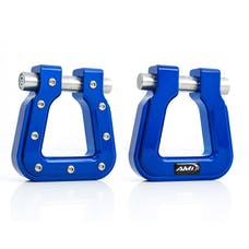 AMI Styling 8812B-2 Demon V2- Square D-Ring Blue