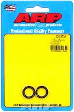ARP 200-8738 7/16 ID .660 OD  Chamfer Black Washer Kit