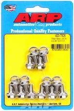 ARP 400-7506 SS valve cover bolt kit