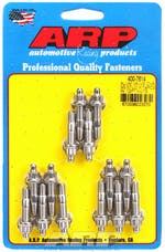 ARP 400-7614 Cast alum covers SS 12pt valve cover stud kit, 14pc
