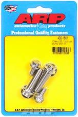 ARP 430-1601 Stainless Steel 12pt fuel pump bolt kit