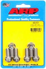 ARP 430-3101 Stainless Steel 12pt motor mount bolt kit