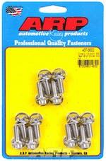 ARP 437-3002 12-bolt, Stainless Steel rear end cover bolt kit