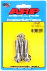 ARP 450-3502 Stainless Steel 3-bolt 12pt starter bolt kit