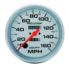 AutoMeter Products 4495 Speedo  160 MPH