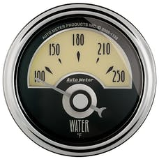 AutoMeter Products 1136 GAUGE; WATER TEMP; 2 1/16in.; 250deg.F; ELEC; CRUISER AD