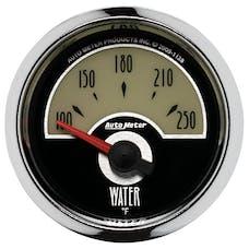 AutoMeter Products 1138 GAUGE; WATER TEMP; 2 1/16in.; 250deg.F; ELEC; CRUISER