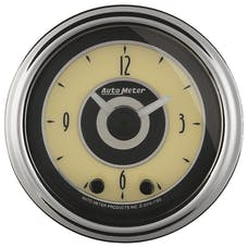 "AutoMeter Products 1184 2"" CLOCK, Illuminated, Analog, Cruiser AD"