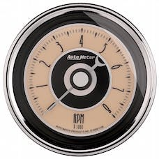 """AutoMeter Products 1195 3-3/8"""" Tach, 8,000 RPM, In-Dash Cruiser AD"""